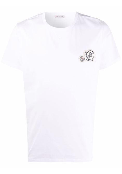 White t-shirt MONCLER | 8C000388390Y001