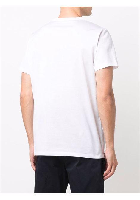 T-shirt bianca MONCLER | T-SHIRT | 8C000388390Y001