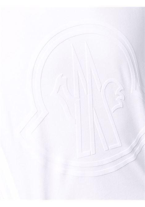 T-shirt bianca MONCLER | T-SHIRT | 8C000548390T001