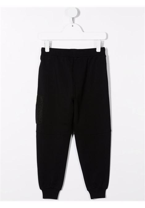 Pantalone nero MOSCHINO KIDS | PANTALONI | HUP04VLDA1660100