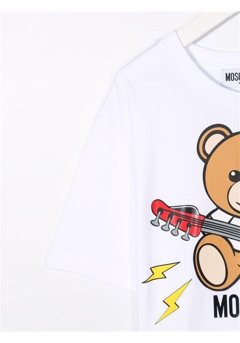 T-shirt bianca MOSCHINO KIDS | T-SHIRT | HZM02XLBA1210101