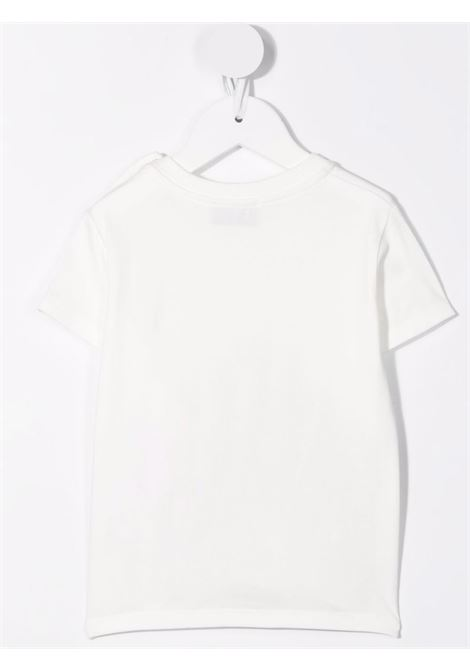 T-shirt bianca MOSCHINO KIDS | M9M02ABLBA1210063