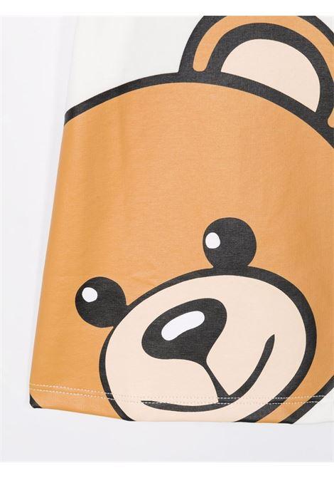 T-shirt bianca MOSCHINO KIDS | T-SHIRT | M9M02ABLBA1210063