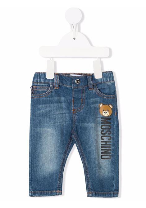 Jeans blu MOSCHINO KIDS | MNP038LXE1640097