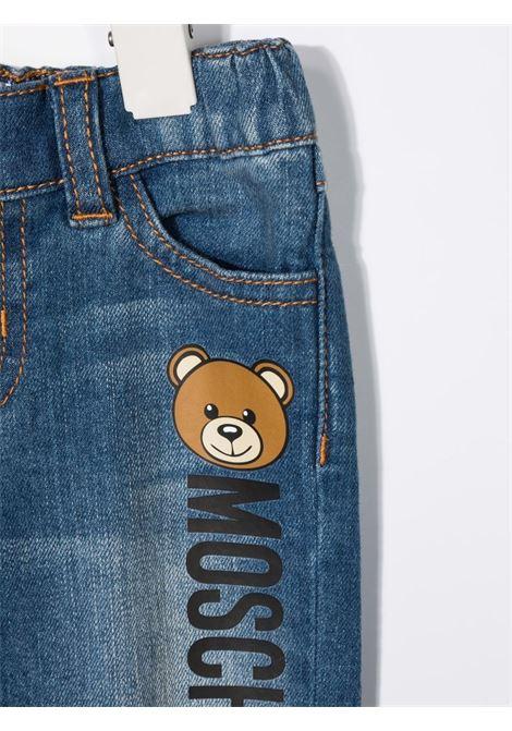 Jeans blu MOSCHINO KIDS | JEANS | MNP038LXE1640097