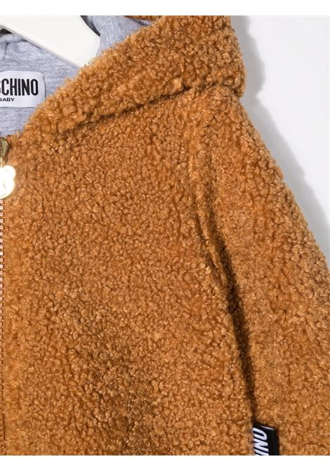 Giacca marrone MOSCHINO KIDS | GIACCHE | MUA003LIA0020093