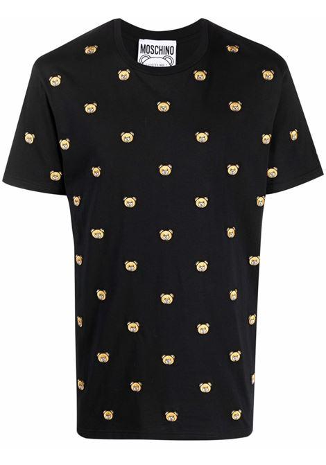 Black t-shirt MOSCHINO   A070452401555