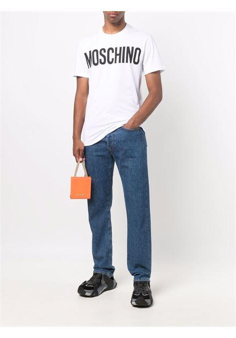 T-shirt bianca MOSCHINO | T-SHIRT | A070552401001