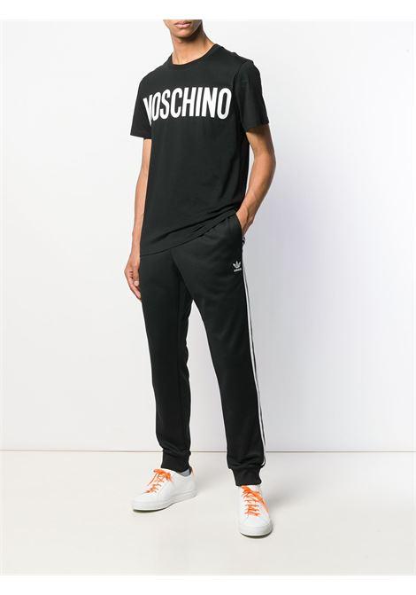 T-shirt nera MOSCHINO | T-SHIRT | A070552401555