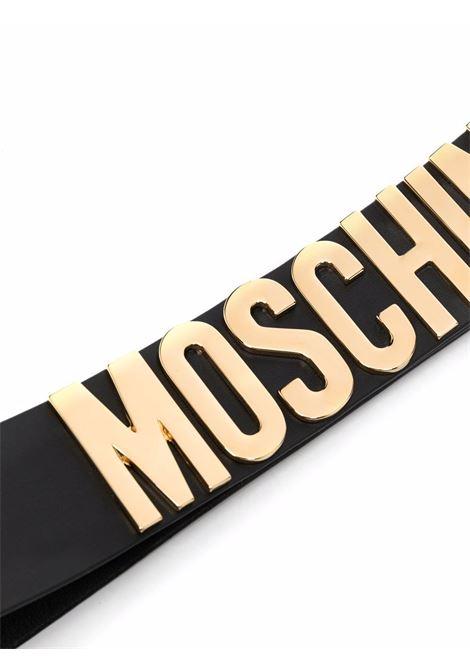 Cintura nera MOSCHINO | CINTURE | A80288012555
