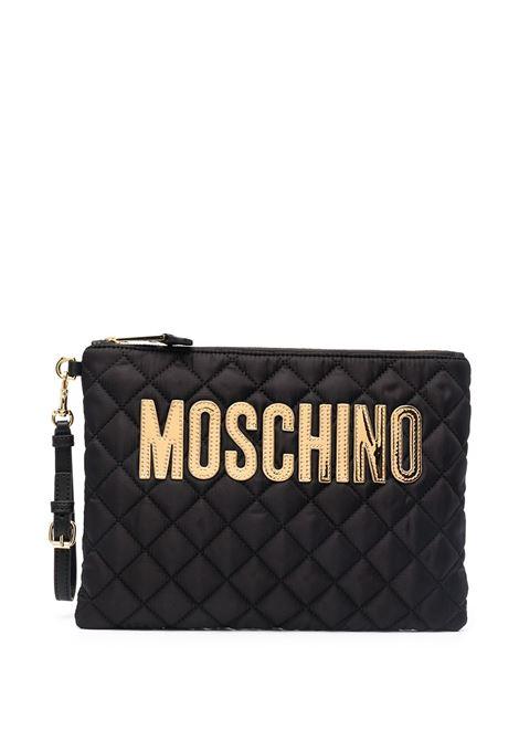 Pochette con logo MOSCHINO | B840882012555