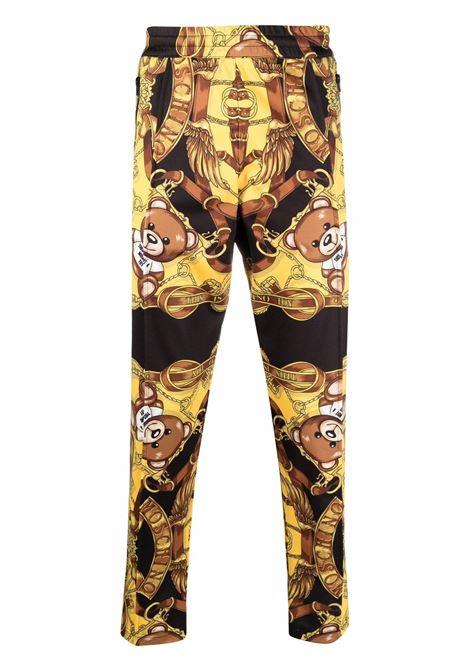 Pantalone nero MOSCHINO | PANTALONI | J032952291555