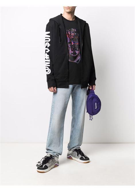 T-shirt nera MOSCHINO | T-SHIRT | J070370401555