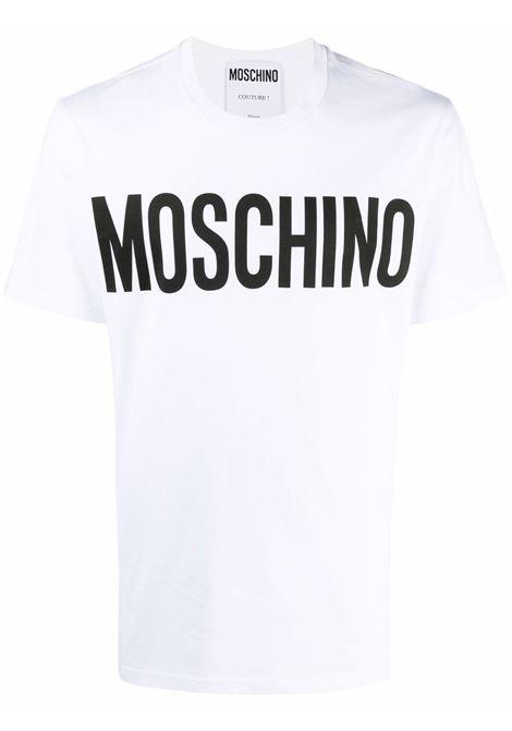 T-shirt bianca MOSCHINO | T-SHIRT | J070570401001