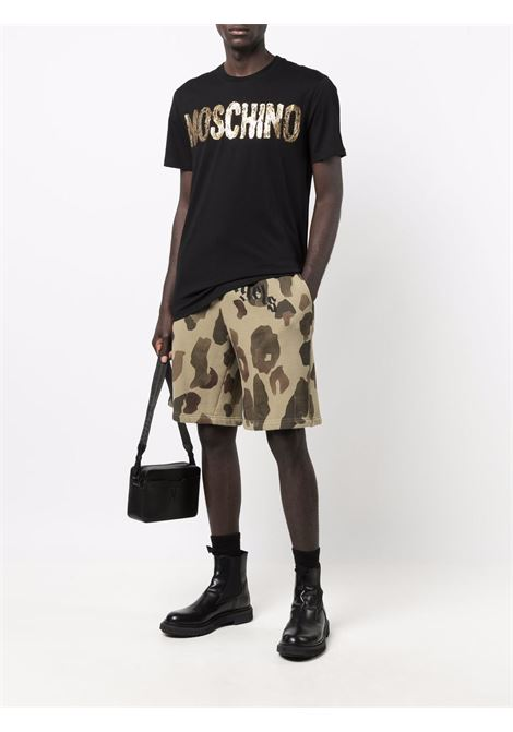 T-shirt nera MOSCHINO | T-SHIRT | J071752405555