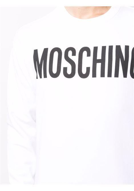 Felpa bianca MOSCHINO | FELPE | J171870271001
