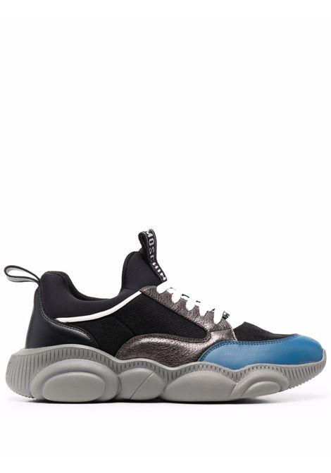 Sneakers nero/grigio/blu MOSCHINO | SNEAKERS | MB15103G0DGU100A