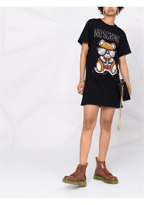 Black dress MOSCHINO | DRESS | V049155011555