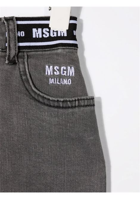 Gonna grigia MSGM KIDS   027741127