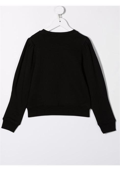 Black sweatshirt MSGM KIDS | 027767110