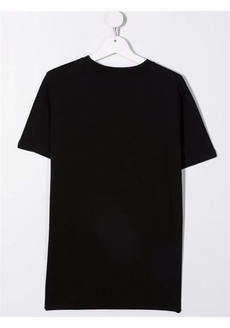 Black t-shirt MSGM KIDS | T-SHIRT | 027768T110