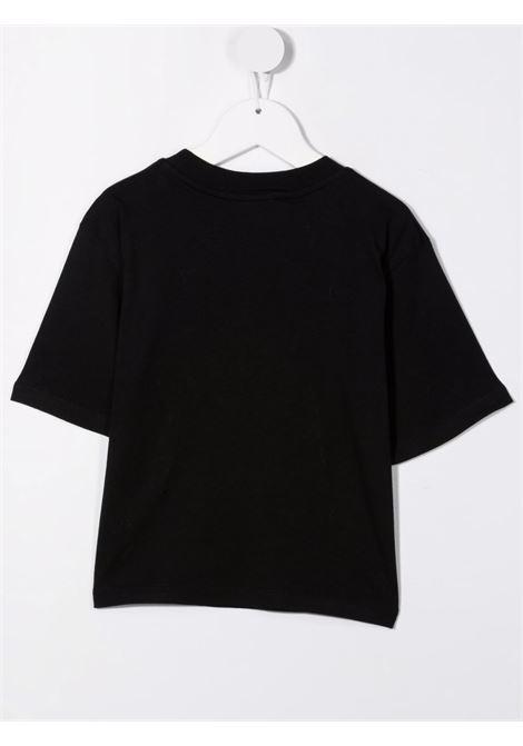 Black t-shirt MSGM KIDS | T-SHIRT | 027799110