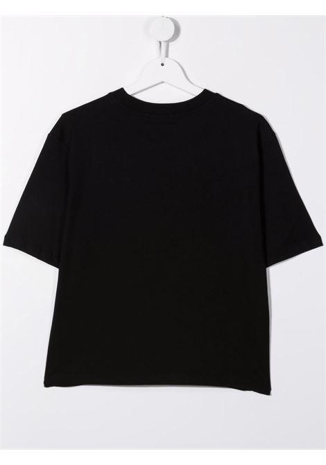 Black t-shirt MSGM KIDS | T-SHIRT | 027799T110