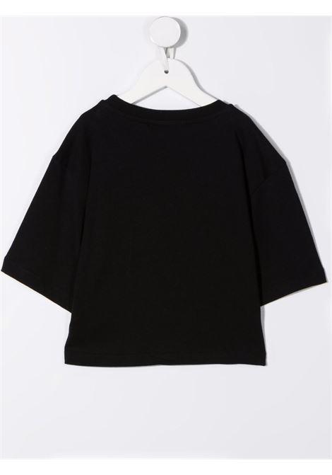 Black t-shirt  MSGM KIDS | T-SHIRT | 027840110