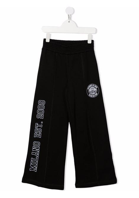 Black track pants MSGM KIDS | TROUSERS | 027841110