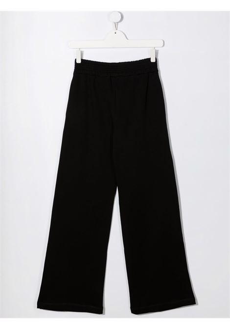 Black track pants MSGM KIDS | TROUSERS | 027841T110
