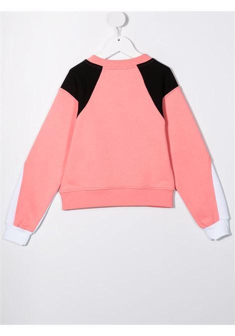 Pink/black sweatshirt MSGM KIDS | SWEATSHIRTS | 02784407701
