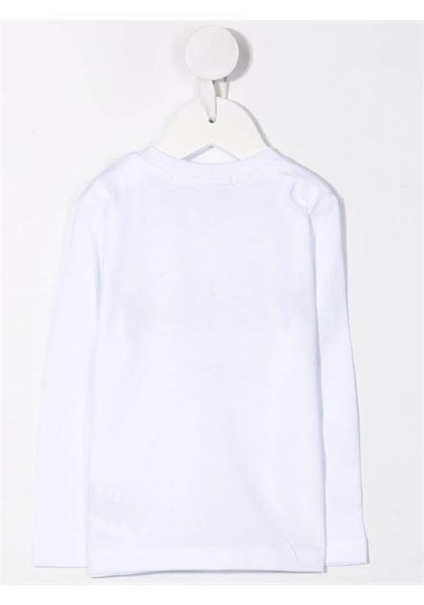 T-shirt bianca MSGM KIDS | T-SHIRT | 027873001