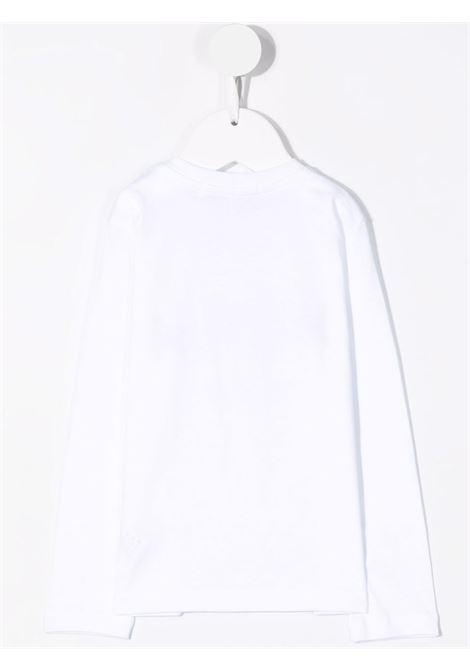 Felpa bianca MSGM KIDS | 027873B001