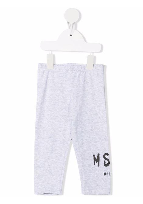 Grey leggings MSGM KIDS   027882107