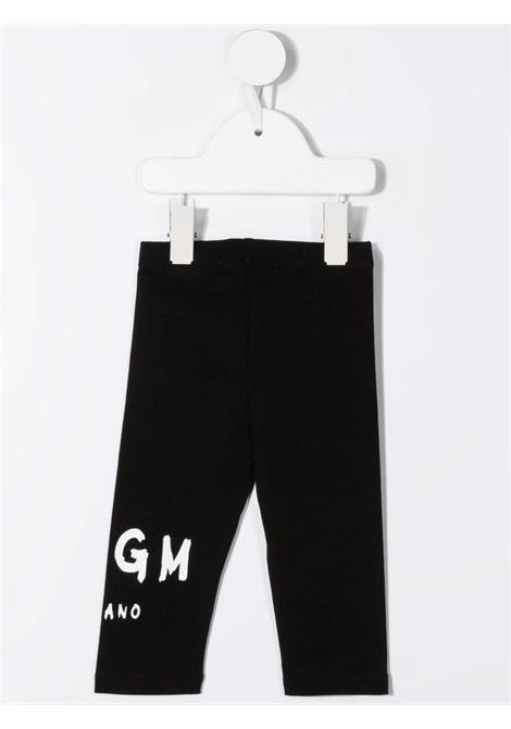 Black leggings MSGM KIDS   027882110