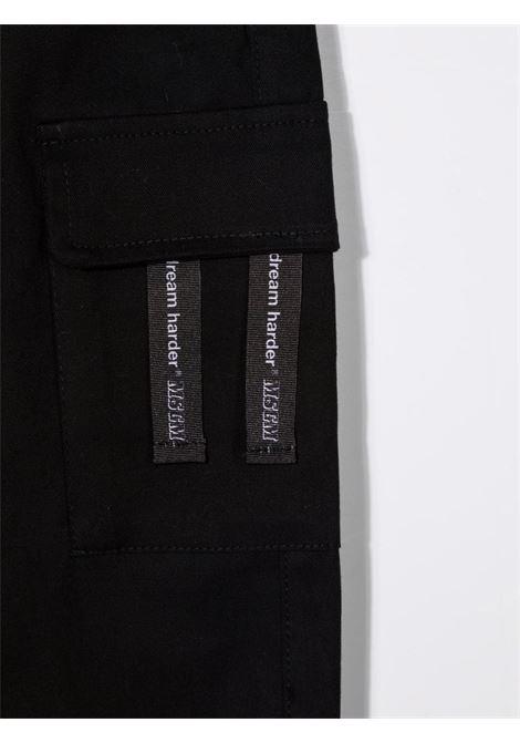Pantalone nero MSGM KIDS | PANTALONI | 027913110