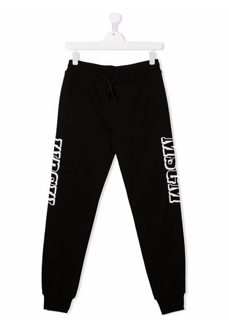 Pantalone nero MSGM KIDS | PANTALONI | 027916T110
