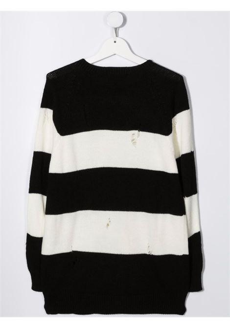 Maglione nero/bianco MSGM KIDS | MAGLIONE | 027917T200