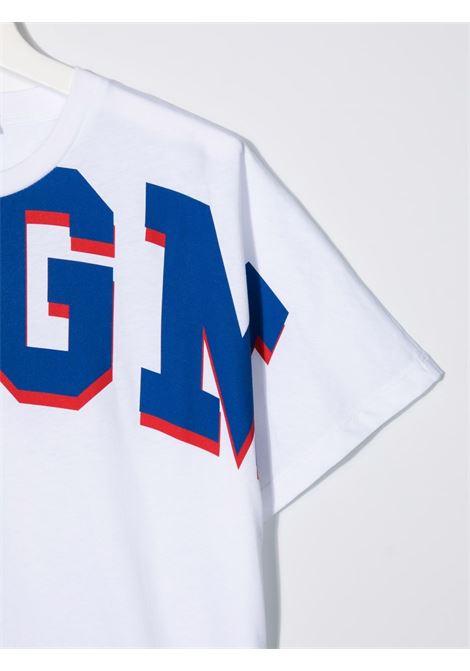 T-shirt bianca MSGM KIDS | 027957T001