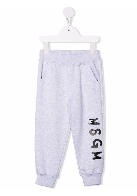 Pantalone grigio MSGM KIDS | PANTALONI | 028714B107