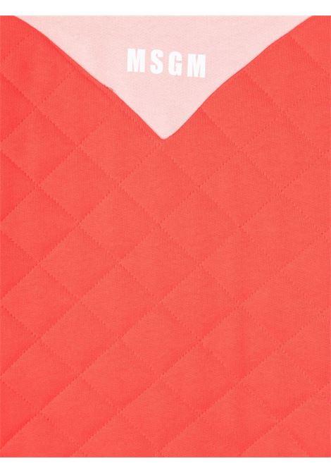 Red/pink dress MSGM KIDS | 02871507702