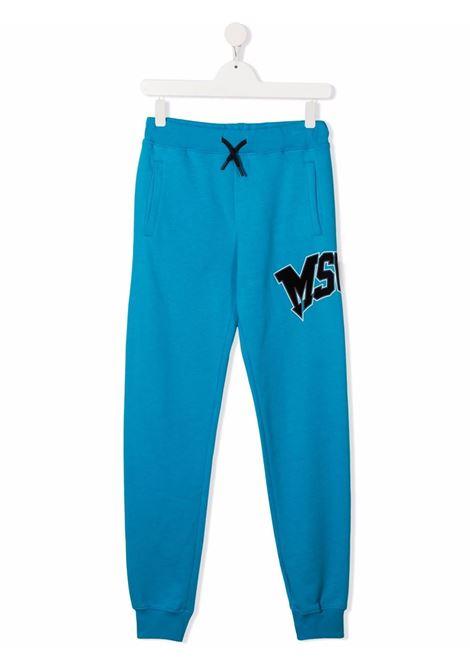 Pantalone azzurro MSGM KIDS | 028719T120