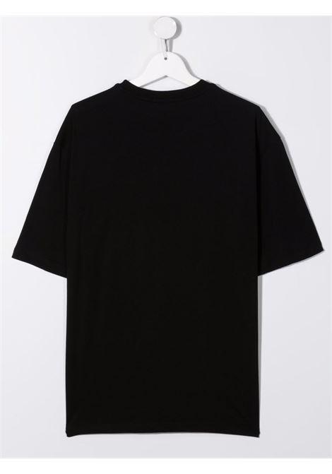 T-shirt nera MSGM KIDS | T-SHIRT | 028725T110