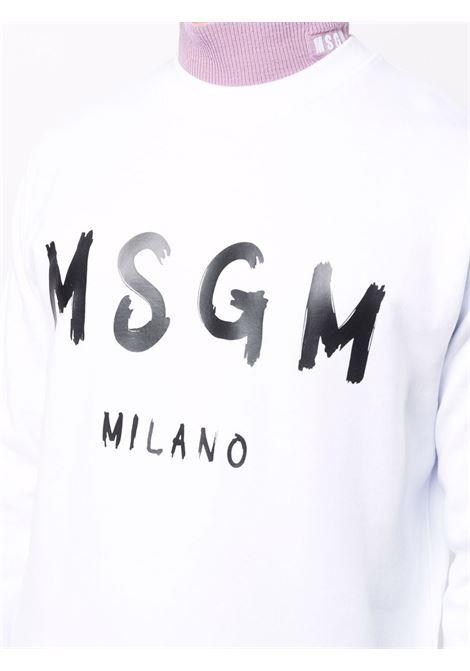 Felpa bianca MSGM | FELPE | 2000MM51320000001
