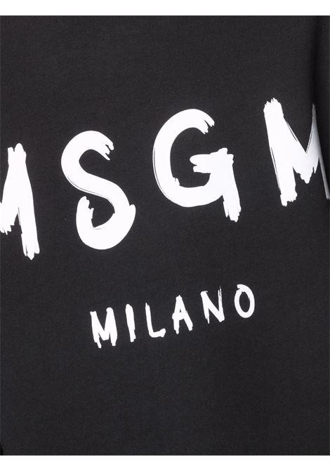 Felpa nera MSGM | FELPE | 2000MM51320000099
