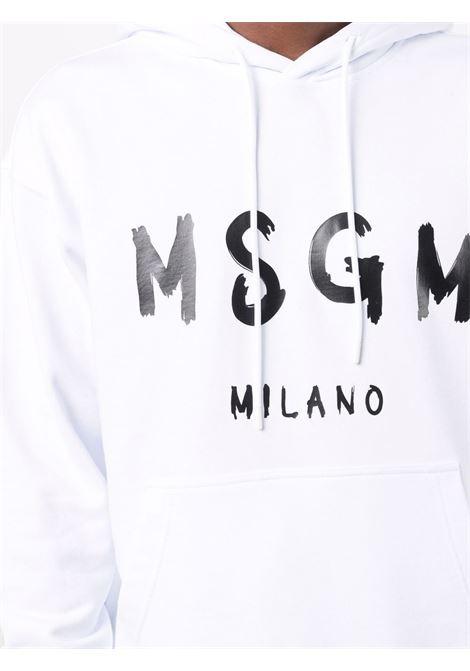 Felpa bianca MSGM | FELPE | 2000MM51520000001