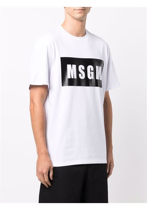 White t-shirt MSGM | 2000MM52020000201