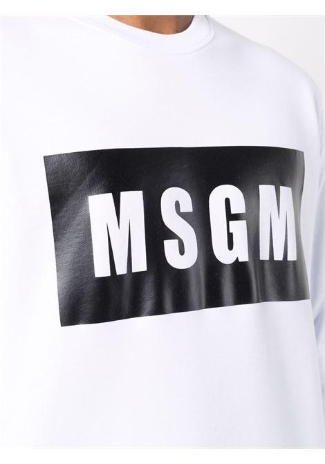 Felpa bianca MSGM | FELPE | 2000MM52320000001