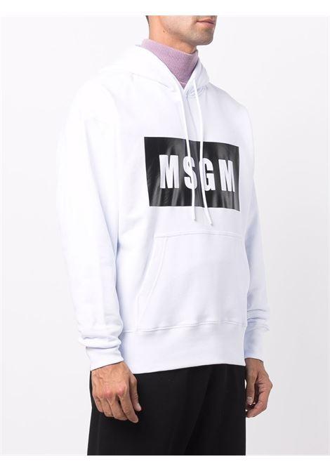 Felpa bianca MSGM | FELPE | 2000MM52520000001
