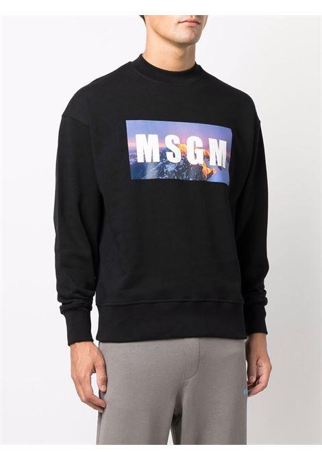 Black sweatshirt MSGM | 3140MM16321759999